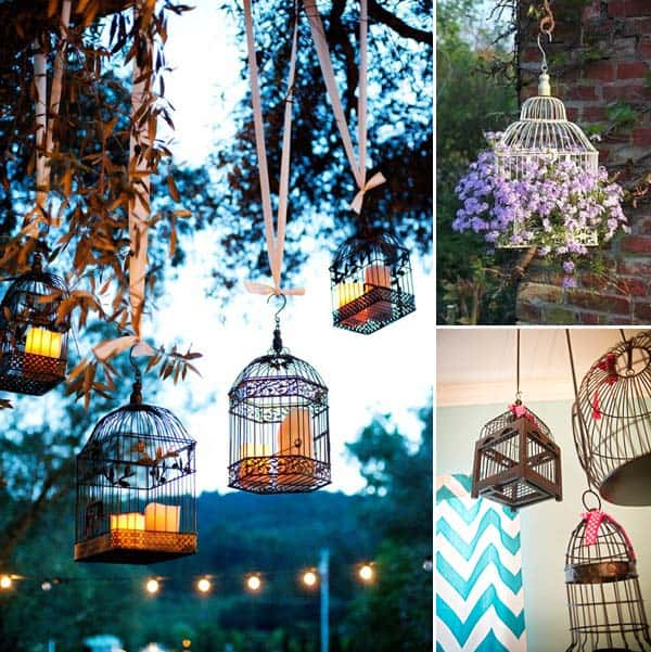 24 User Birdcages In Your Decor