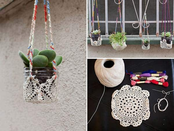 #5 CRAFT A LACE SUPPORT FOR YOUR PLANTERS