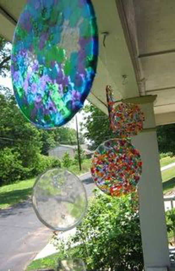 #8 CRAFT CEILING DECORATIONS WITH COLORFUL MELTED BEAMS
