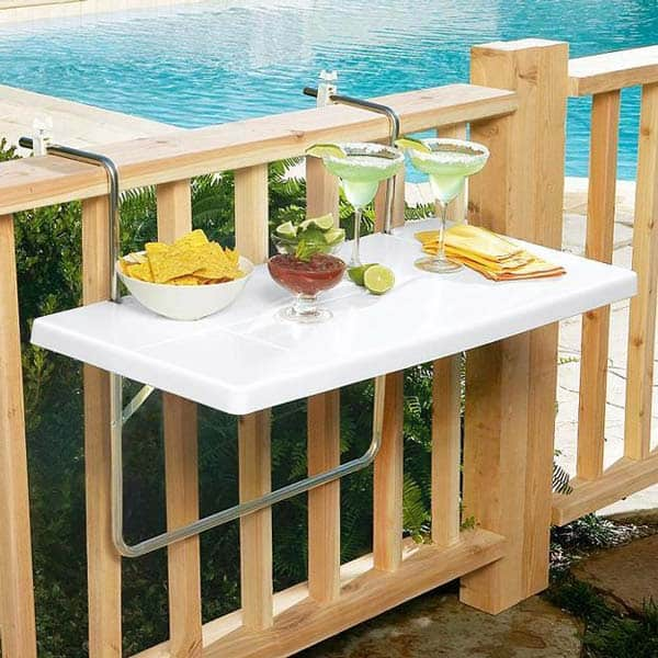 26 Small Furniture Ideas to Pursue For Your Small Balcony homesthetics magazine (15)