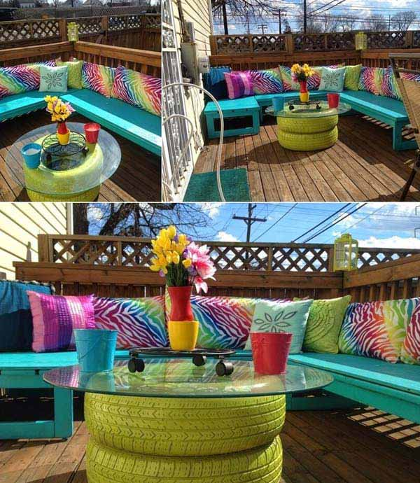26 Small Furniture Ideas to Pursue For Your Small Balcony homesthetics magazine (3)