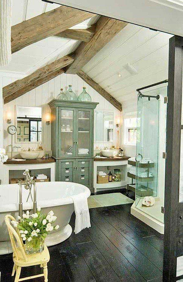 BEAUTIFUL BATHROOM SUITE ADORN IN THE ATTIC