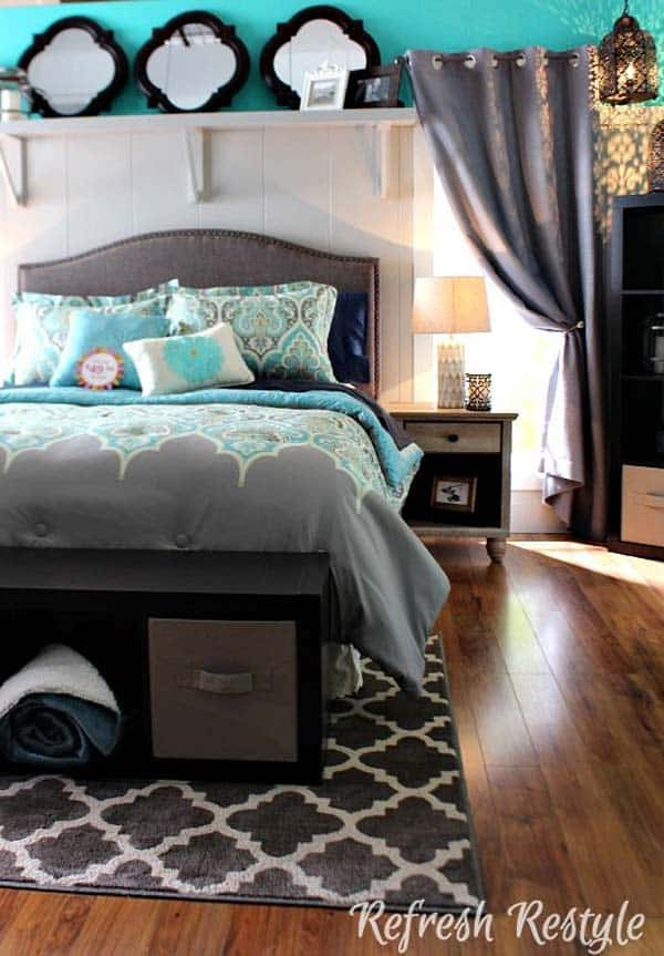 SIMPLE INEXPENSIVE ELEMENTS CAN INCREASE BEDROOM STORAGE EASILY