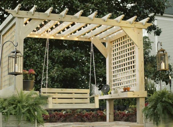 44 Inspiring Pergola Ensembles For Your Backyard & Pergola Types  homesthetics dream pergolaExplained ... - What Is A Pergola? Pergola Design Ideas & Pergola Types