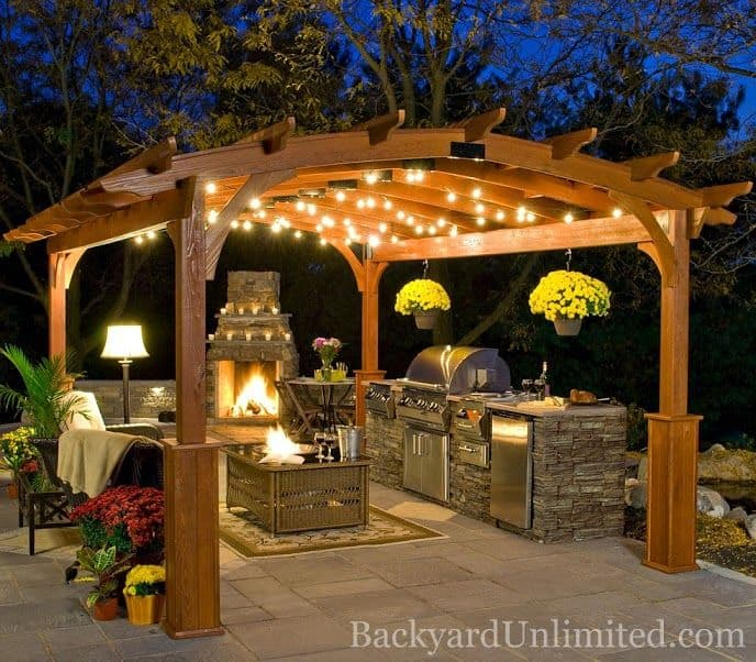 44 Inspiring Pergola Ensembles For Your Backyard U0026 Pergola Types  Homesthetics Dream PergolaExplained ...