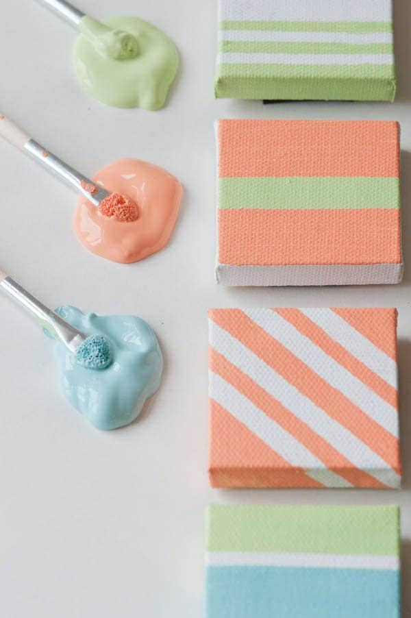 16. TINY CANVAS PAINTING IDEAS