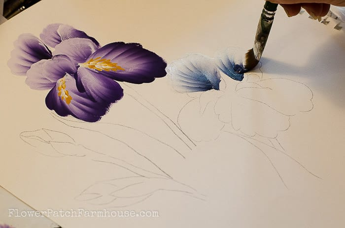 LEARN HOW TO PAINT ELEGANT IRISES