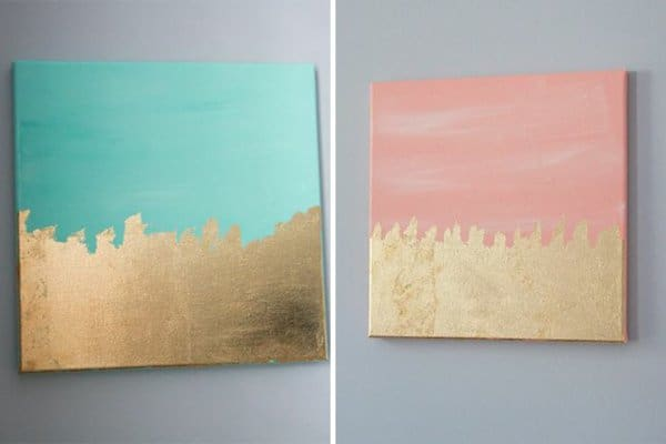 Delight Your Senses With Canvas Painting Ideas For Beginners homesthetics (24)
