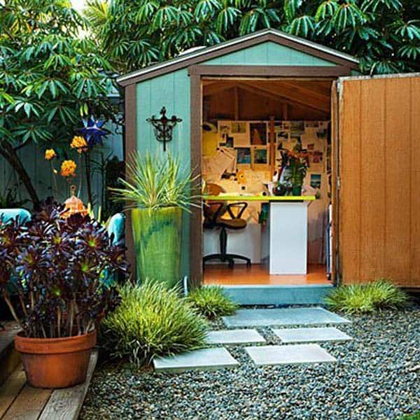 Beau Insanely Beautiful Sublime Backyard Shed Office In Which You Would Love To  Work Homesthetics Decor (