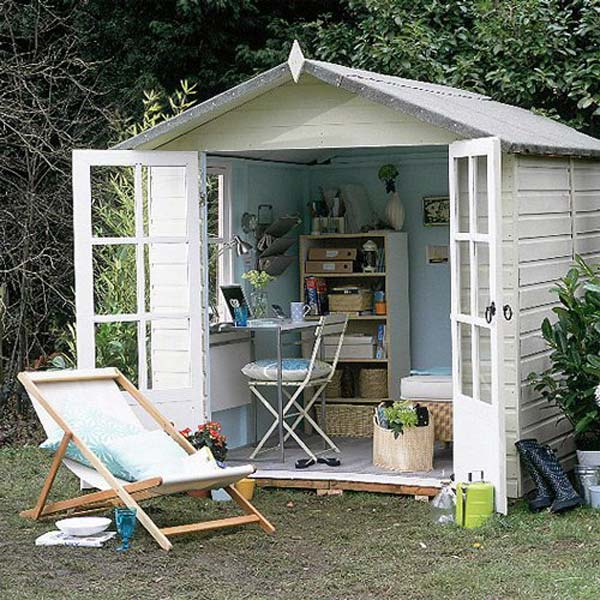 Insanely Beautiful Sublime Backyard Shed Office In Which You Would Love to Work homesthetics decor (4)