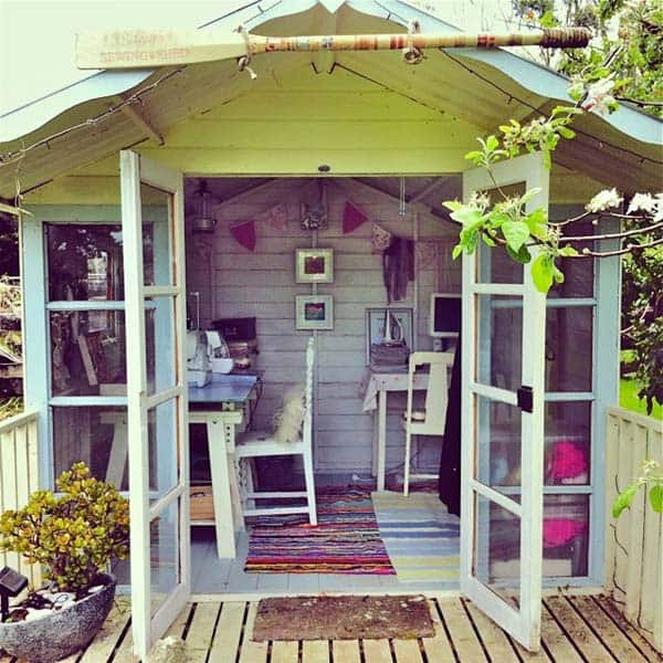 Insanely Beautiful Sublime Backyard Shed Office In Which You Would Love to Work homesthetics decor (9)