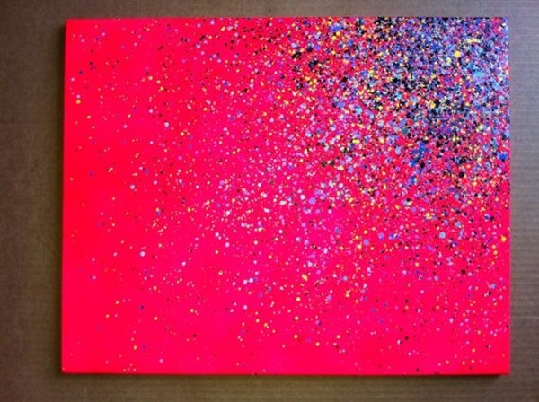 10. A BRIGHT COLORED GROUND AND SOME SPARKLE