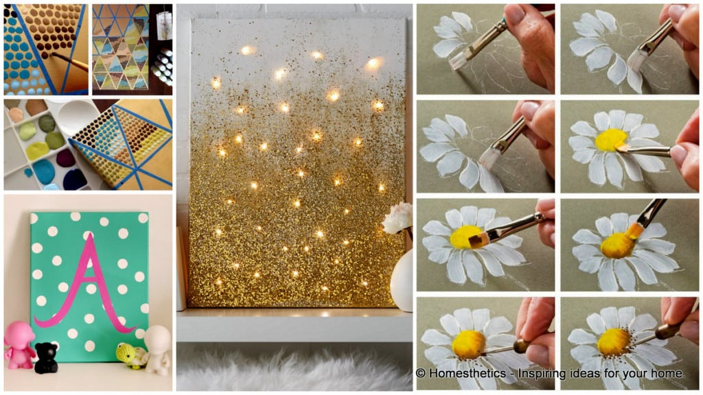 canvas photo board ideas - 23 Clever DIY Industrial Furniture Projects
