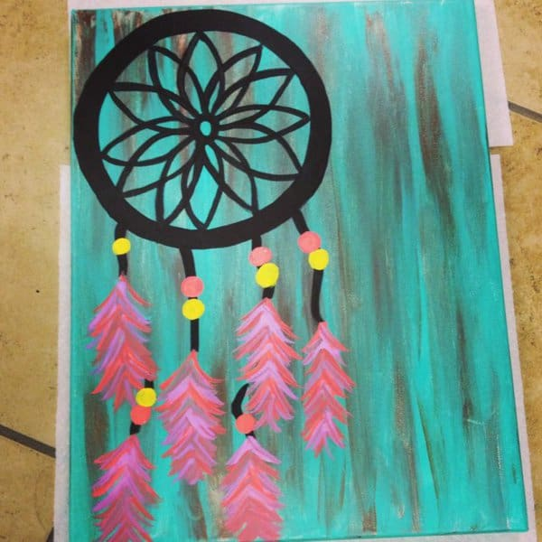 18. LEARN TO MAKE AND PAINT A DREAM CATCHER