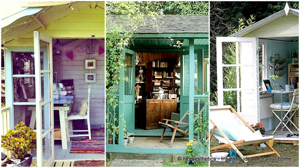 1-Insanely Beautiful Sublime Backyard Shed Office In Which You Would Love to Work
