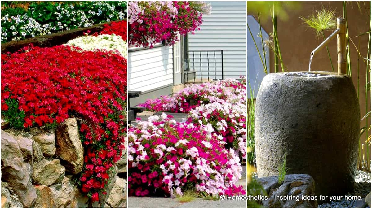 10 small flower garden ideas to build a serene backyard for Flower landscape ideas