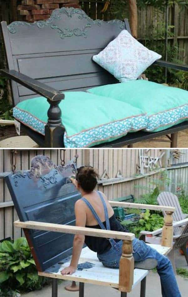 13 Upcycled Furniture Ideas For Your Home and Garden homesthetics (1)