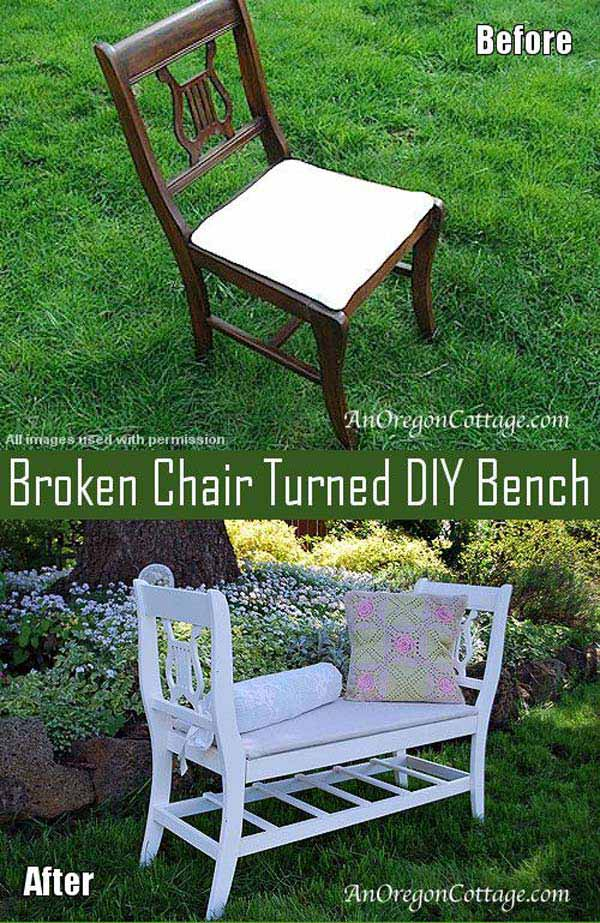 13 Upcycled Furniture Ideas For Your Home and Garden homesthetics (15)