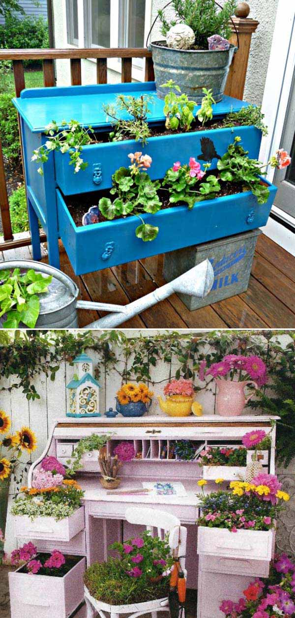 13 Upcycled Furniture Ideas For Your Home and Garden homesthetics (5)