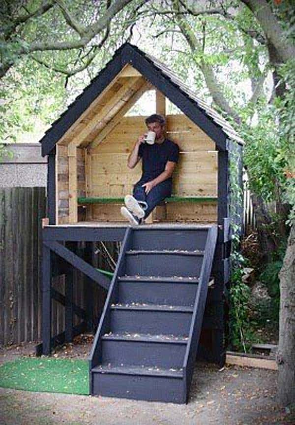 A SMALL PLAYFUL HOME CAN BE FUN FOR ALL AGES