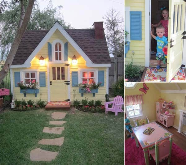 A GIGANTIC DOLL HOUSE SHELTERING A SPECTACULAR PLAYROOM