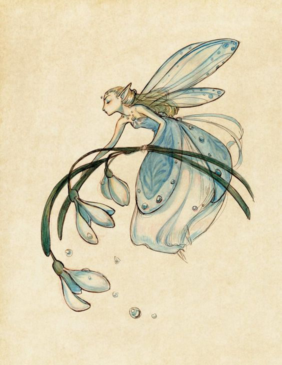 #9 A DESIGN OF A FAIRY HOLDING A FLOWER CAN BE REALIZED