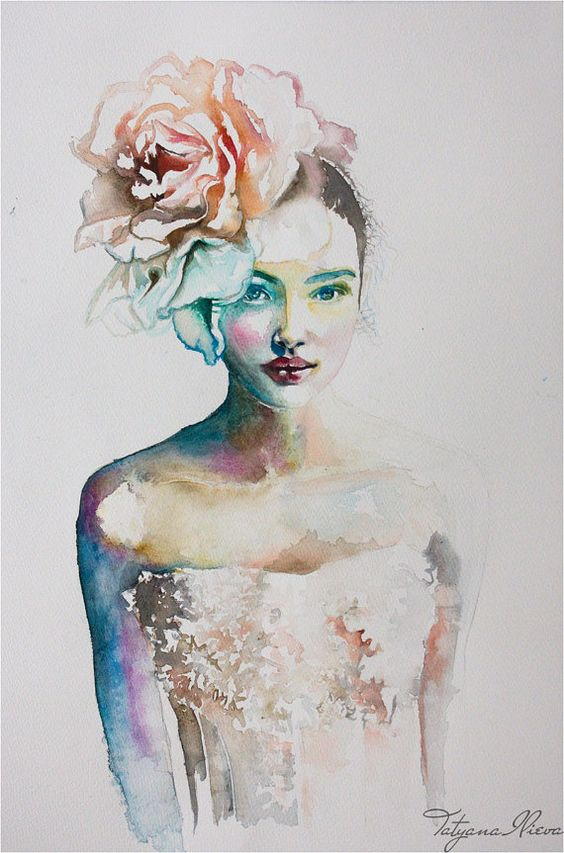 19 incredibly beautiful watercolor painting ideas homesthetics inspiring ideas for your home - Creative digital art ideas for your home ...