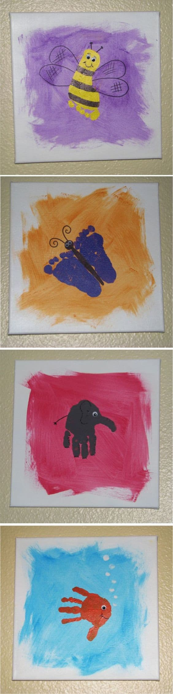 #12 IMAGINE TEACHING KIDS TO CREATE PAINTINGS OF THEIR FAVORITE ANIMAL OR CREATURE