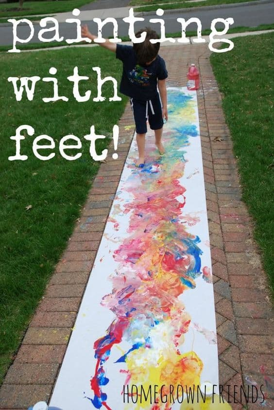 #13 FABRICATING ART WITH YOUR FEET IS POSSIBLE