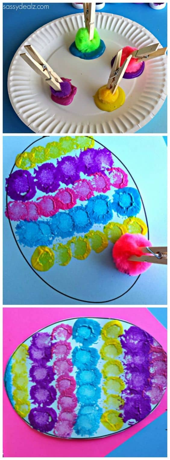 19 fun and easy painting ideas for kids homesthetics for Craft paint safe for babies