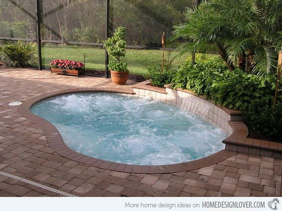 19 Swimming Pool Ideas For A Small Backyard (11) - 19 Swimming Pool Ideas For A Small Backyard - Homesthetics