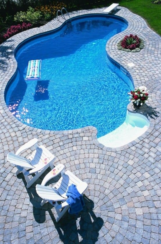 19 swimming pool ideas for a small backyard 5 homesthetics inspiring ideas for your home - Swimming ideas for your backyard ...