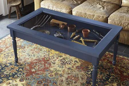 Build a Display Coffee Table homesthetics