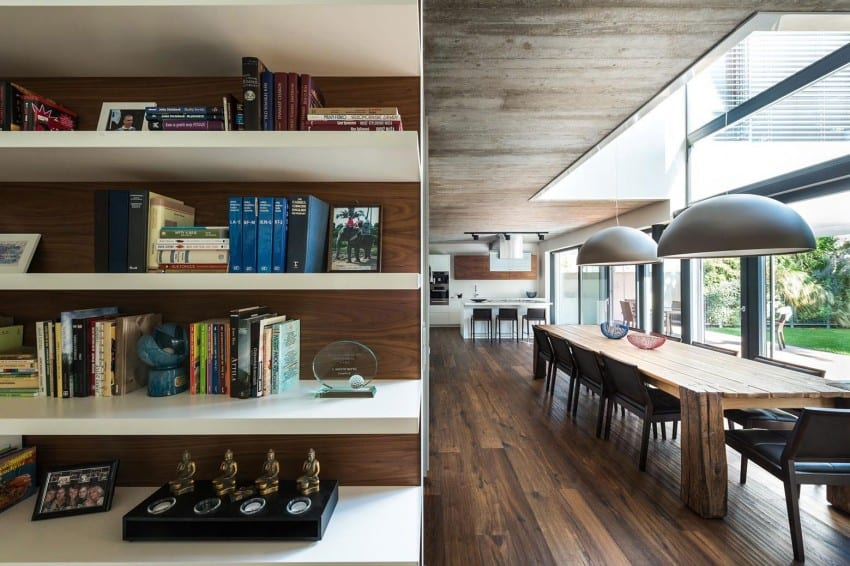 Contemporary Home Sculpted on an Atypical Plot by at26 architectur homesthetics (7)