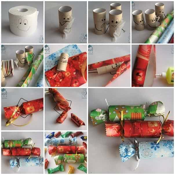 candy box paper roll