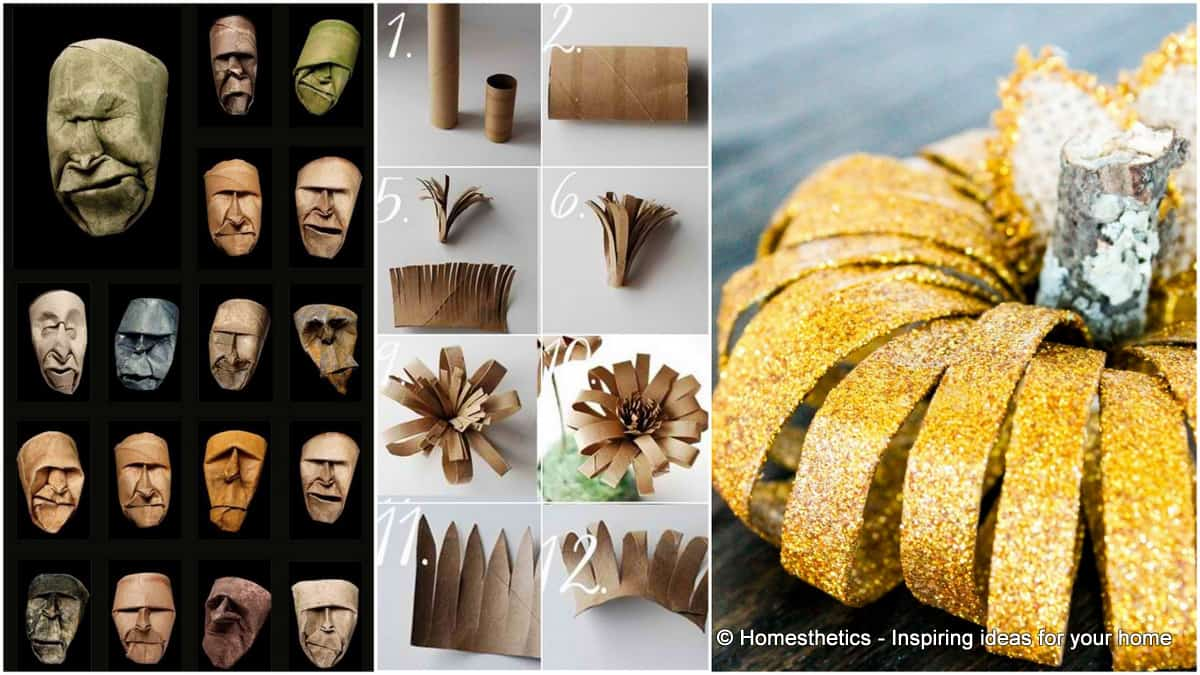 Find Utility In 21 Creative Toilet Paper Roll Crafts - Homesthetics ...