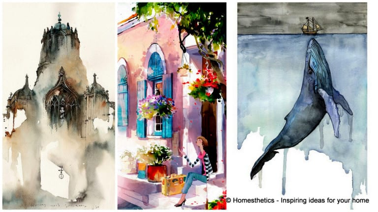 Beautiful Watercolor Painting Ideas
