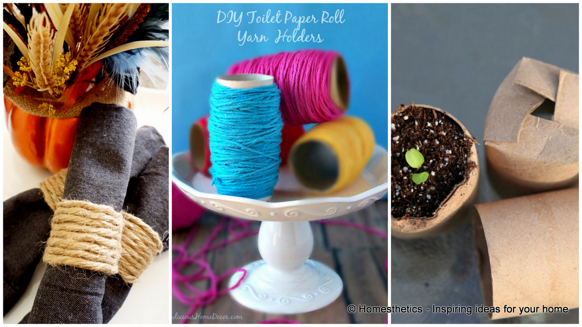 Toilet paper roll crafts to keep your home organized toilet paper roll crafts to keep your home organized jeuxipadfo Images