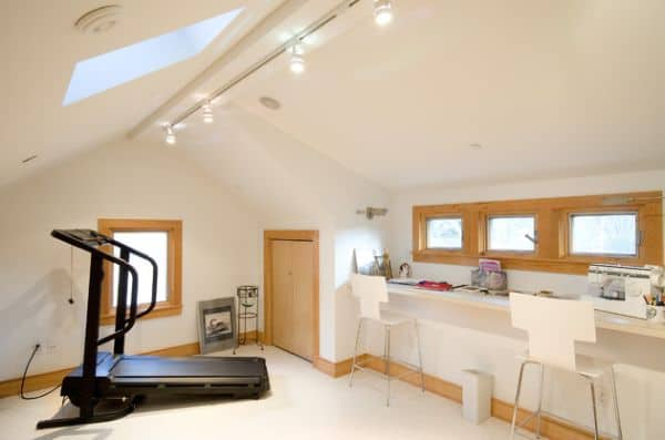 Get your home fit with these 92 home gym design ideas homesthetics inspiring ideas for your - Home gym design small space ...