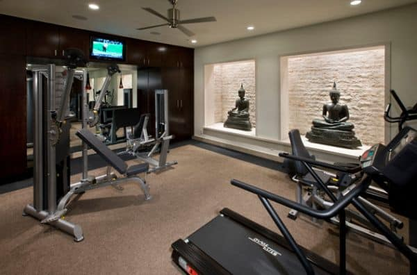 Get Your Home Fit With These Home Gym Design Ideas Page Of - Basement home gym design ideas