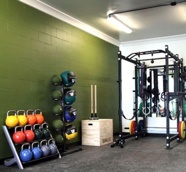 Using Colored Gym Equipment Is A Great Way To Improve Your Decor