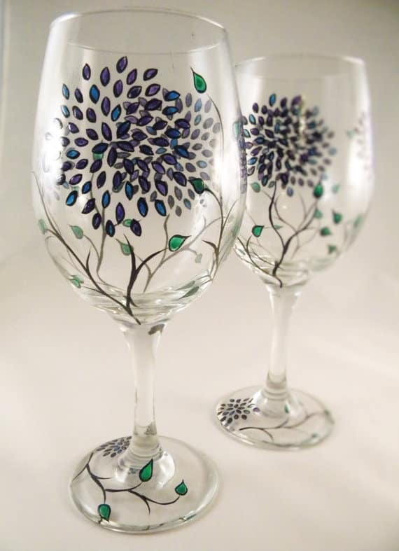 HOW TO PAINT GLASS homesthetics (2)