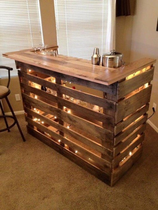 Home Bar Ideas to Match Your Entertaining Style homesthetics (3)