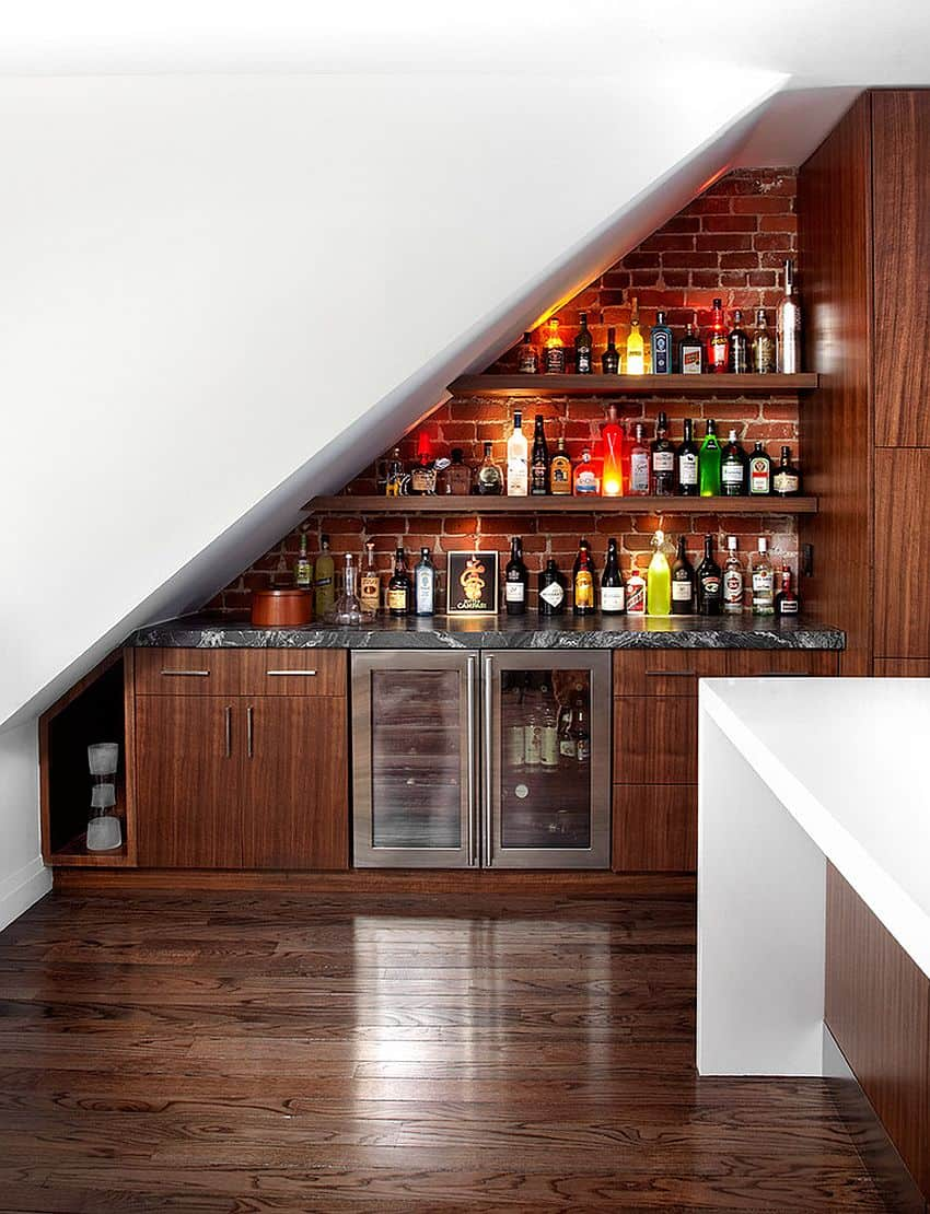 Home bar ideas to match your entertaining style - Mini bar in house ...