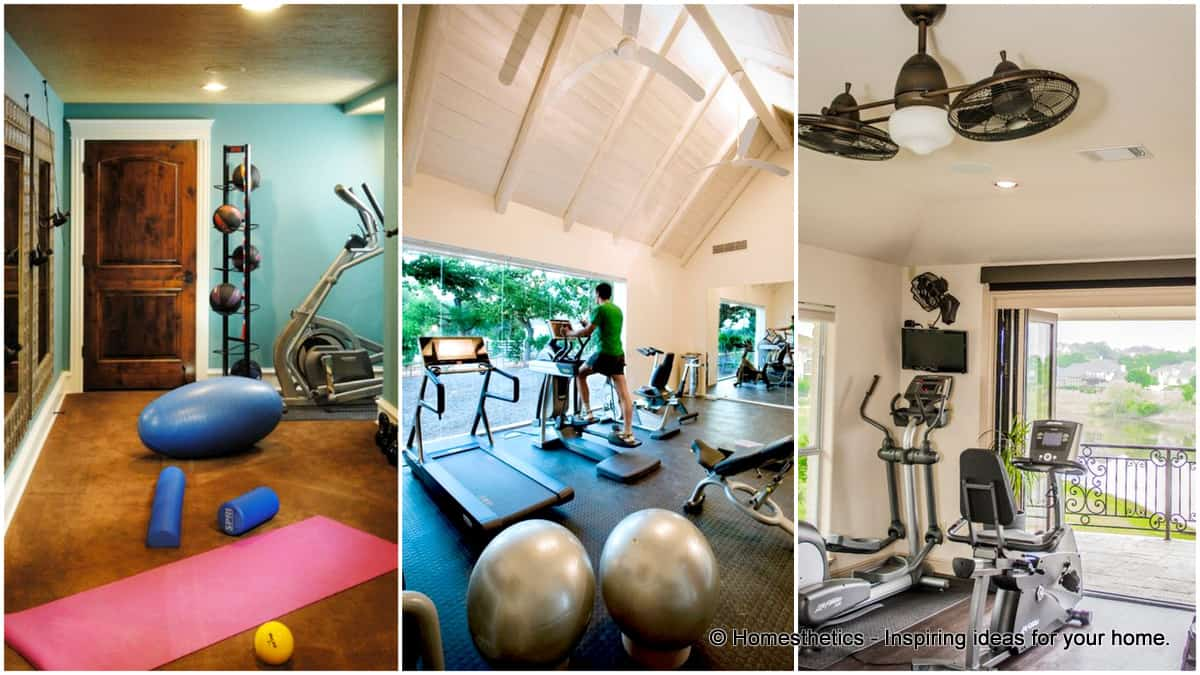 design your home office. Get Your Home Fit With These 92 Gym Design Ideas Office