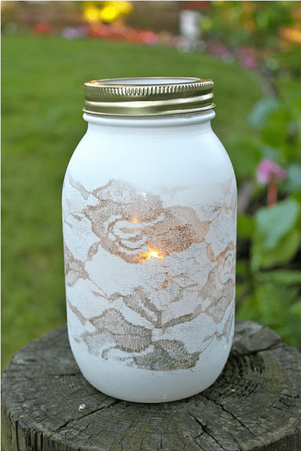 How To Paint Glass homesthetics.net mason jar painting (1)