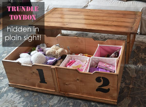Simple Free DIY Coffee Table Plans - Build a simple coffee table