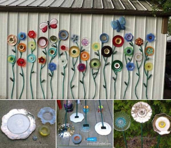 Wonderful Low Budget DIY Garden Art Flower Yard Projects To Do