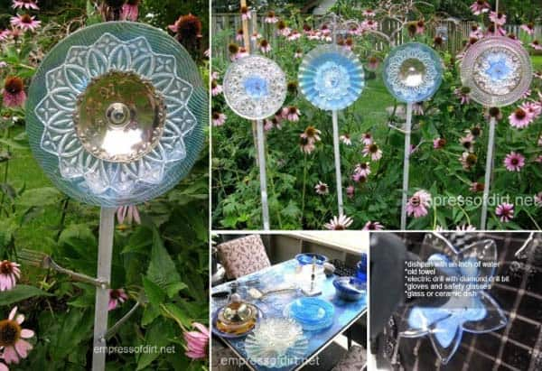 Simple Low Budget DIY Garden Art Flower Yard Projects To Do homesthetics (10)