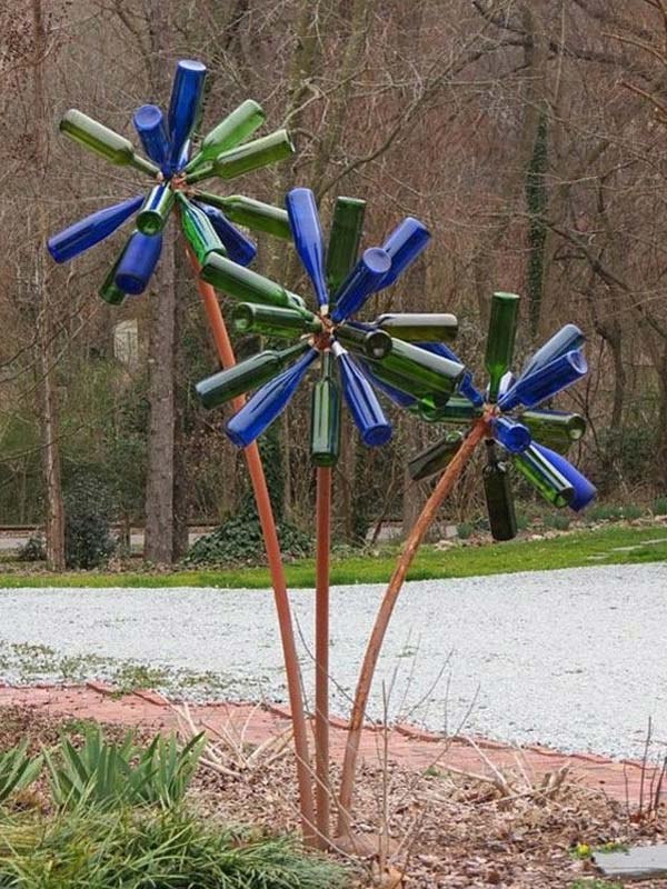 Simple Low Budget DIY Garden Art Flower Yard Projects To Do homesthetics (13)